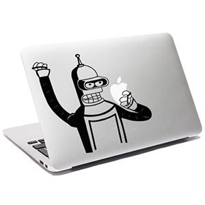 Samolepky na Macbook